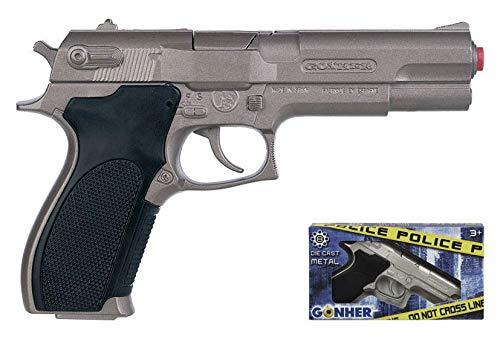 Gonher pistolet de police avec 8 coups sans taille 45