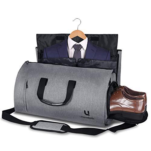 Sac de transport pour sac à main pour le transport de vêtements Vêtements Vêtements Vêtements Vêtements Vêtements Sac de transport pour vêtements avec compartiments pour chaussures et bandoulière ajustable, idéal pour les hommes d'affaires Femmes