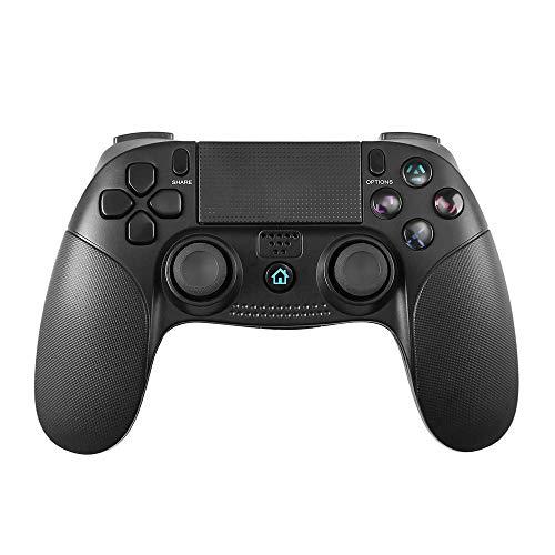 Manette PS4, Manette de jeu sans fil Bluetooth PowerLead pour Playstation 4 / Playstation 3 / Touchpad Joypad PC avec manette de jeu télécommandée à vibrations doubles