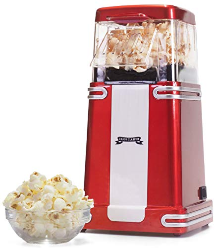 Gadgy Popcorn Machine | Popcorn Vintage | Hot Air Grease Free Oil