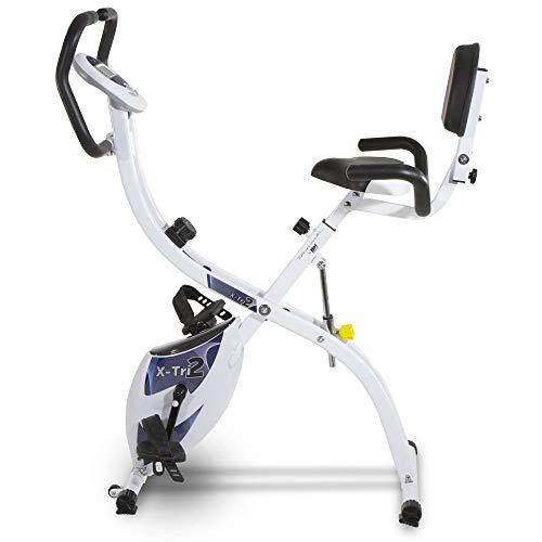 Vélo d'exercice pliable X-TRI2. 3 postes de formation. Tecnovita par BH YF910