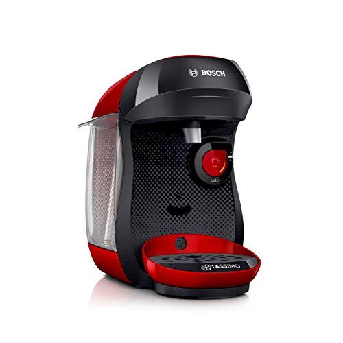 Bosch Tas1003 Cafetière monodose Multidrink 1400 W, 0,7 litre, rouge/noir