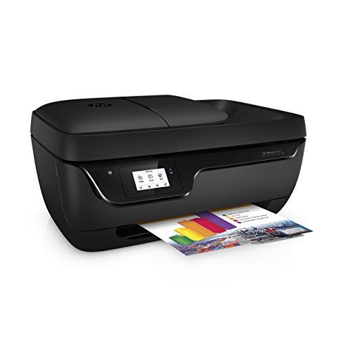 HP OfficeJet 3833 - Imprimante à encre multifonction (Wi-Fi, incluant 4 mois d'encre instantanée HP, ADF, USB 2.0), couleur noire