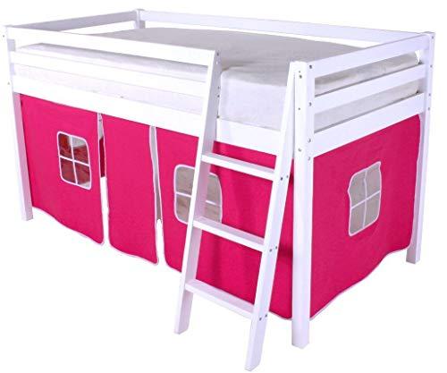 Tente HLS rose pour la litière de la cabine du dormeur intermédiaire