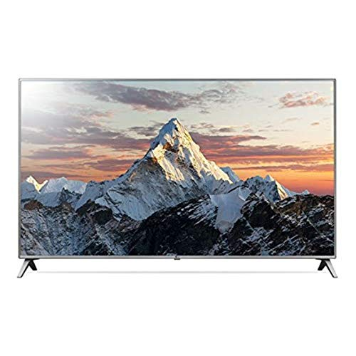 LG 75UK6500 - Ultra HD TV 4K, 75', avec intelligence artificielle, processeur quad core, 3 x HDR, son ultra-surround, DVB-T2/C/S2, HDMI, noir