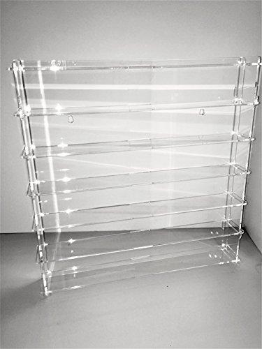 Techniques laser 1:43.43.4.2L6B/24.T Vitrine en méthacrylate, fond transparent, mesures montées 50x50x7 cm (HxLxP), lot de 11 pièces