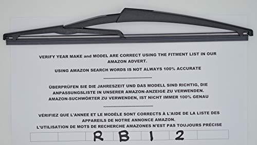 Essuie-glace de lunette arrière 30 cm RB12