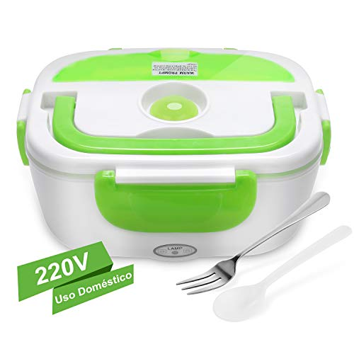 YISSVIC Boîte à lunch électrique 40W 220V à deux compartiments et cuillère YISSVIC revêtement plastique de haute qualité