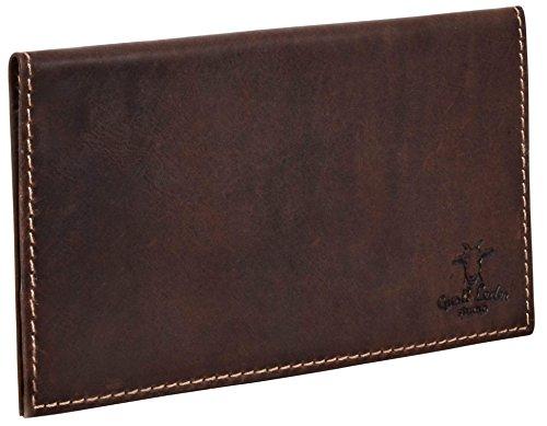 Gusti Leder studio'Cullen' Etui en cuir pour chéquier Cartes de crédit Documents Papier d'identification Porte-monnaie 2A129-22-6-6