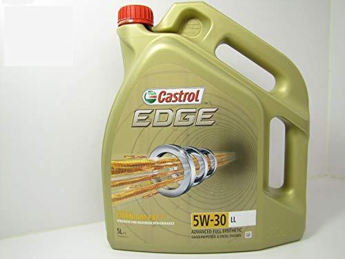 Castrol 57420 EDGE Titanium Motor Oil FST 5W-30 LL, 5L (timbre allemand)