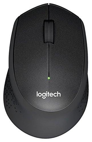 Logitech M330 Silent Plus - Souris sans fil silencieuse avec suivi optique, portée 10m, noir