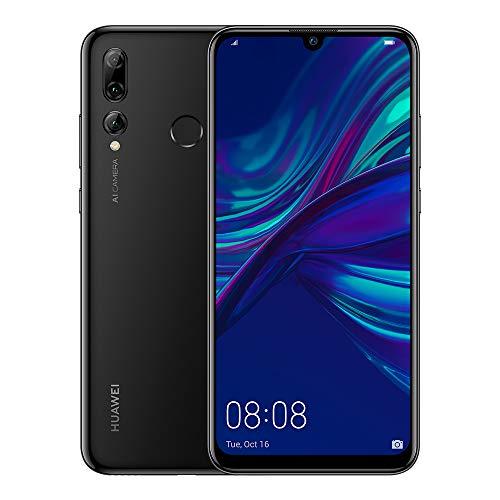 Huawei P Smart+ 2019 - 6.2' FHD Smartphone (3 Go de RAM, 64 Go de mémoire, 24 MP+16 MP+2 MP Caméra arrière, Android 9, 3400mAh, Charge rapide) Noir