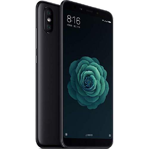 Xiaomi MI A2 - Smartphone 5,9' (Qualcomm Snapdragon 660 à 2,2 GHz, 4 Go de RAM, 64 Go de mémoire, 12/20 MP Dual Camera, Android) couleur noir (version anglaise)
