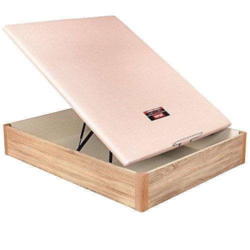 Canapé pliable en bois 3D Pikolin - Chêne, 150x190cm