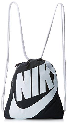 Nike BA5128 011 - Sac d'entraînement, unisexe, noir/blanc, taille 43 x 33 cm