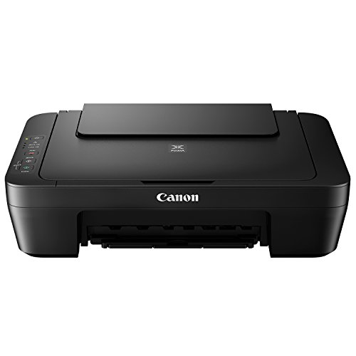 Canon Pixma MG2550S - Imprimante à jet d'encre (2 cartouches FINE, 4,0 à 8,0 ipm, 600 x 1200 ppp, USB haute vitesse), Noir