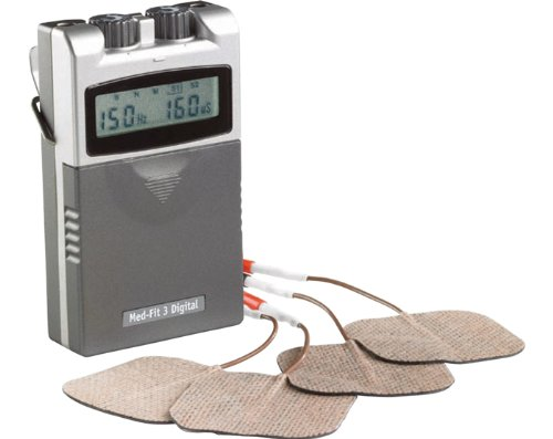 Med-Fit 3 - Appareil d'électrostimulation (numérique, deux canaux)