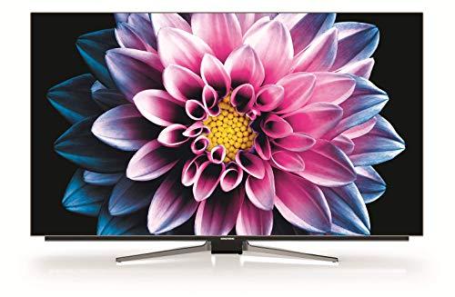 Grundig 55 VLO 9895 BP - Smart TV 55' avec commande vocale Alexa et technologie OLED (UHD 4K, HDR, 3480 x 2160, WiFi, Quad-Core) couleur noire