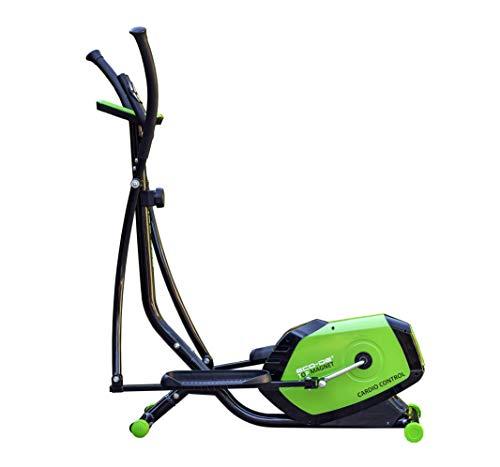 ECO-DE Vélo elliptique à aimant supérieur ECO-DE avec régulation de l'intensité, Contrôle cardiovasculaire, Panneau de contrôle