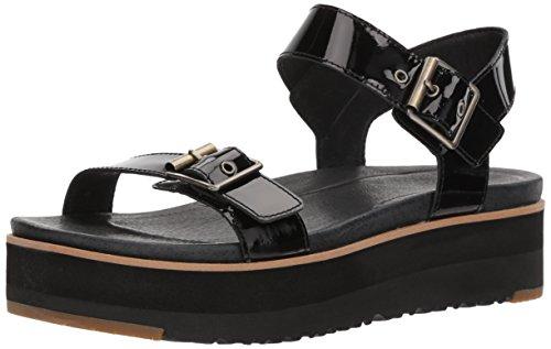 UGG Australie Angie, Sandale Bracelet Femme, Noir (Nero Black), 37 EU