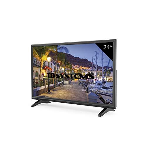 TD Systems K24DLMM7H - TV LED HD 24 pouces, résolution 1366 x 768, HDMI, VGA, lecteur et enregistreur USB.