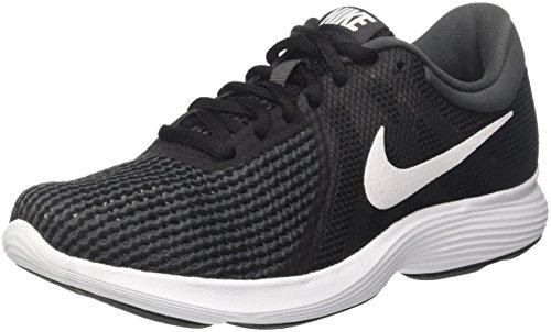 Chaussures de course Nike Wmns Revolution 4 EU, Unisexe Adultes, (Aj3491 001 Blanc), 38