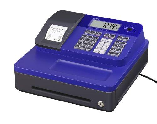 Casio SE-G1SB-BU - Caisse enregistreuse (petit tiroir-caisse, imprimante et afficheur client), bleu