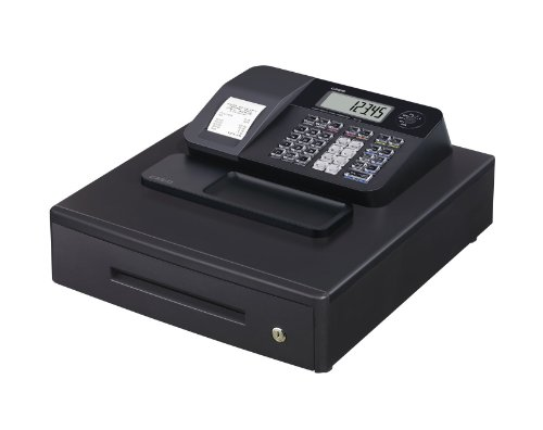 Casio SE-G1MB - Caisse enregistreuse (grand tiroir-caisse, imprimante et afficheur client), noir