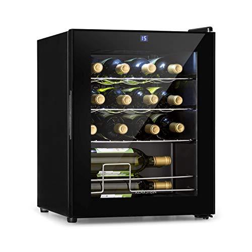 Cave à vin Shiraz Klarstein - Classe d'efficacité énergétique A - Panneau de contrôle tactile -