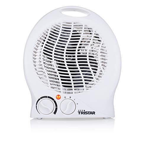 Tristar KA-5039 - Chauffage électrique 3 fonctions réglables, thermostat réglable, ventilateur, 2000 W