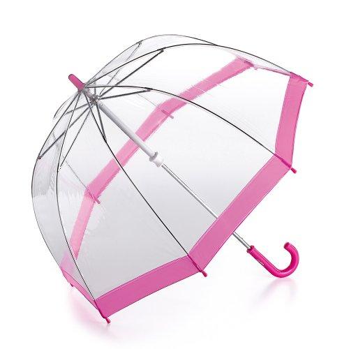 Fulton - Parapluie Enfant, Taille 68cm de long - Taille anglaise, couleur (bordure rose)