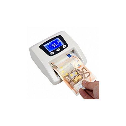 Détecteur de faux billets Eurodétecteur Tous types de billets blancs Euros € 6800
