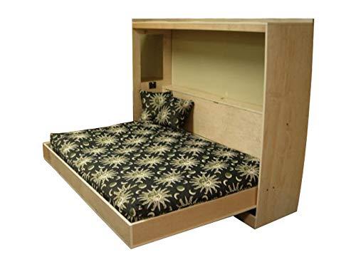 Construisez votre propre lit horizontal Murphy Plan de lit Queen Plan de lit queen Plan de lit de bricolage Meubles