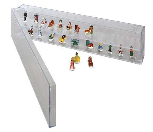 Expo - Système flexible pour la présentation de collections à module unique (Lindner 4810), Largeur : 40 cm, Hauteur : 10 cm, Profondeur : 6 cm