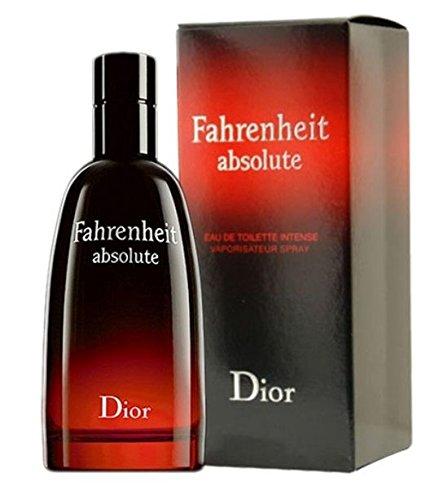 Fahrenheit Absolute - Eau De Toilette pour Homme Spray 100 ml