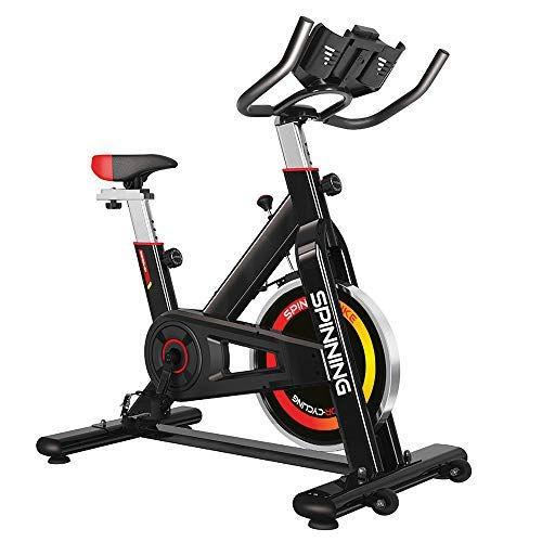 Gridinlux - L'essorage à vélo pour tous les utilisateurs. Écran LCD. Moniteur de fréquence cardiaque. Résistance variable