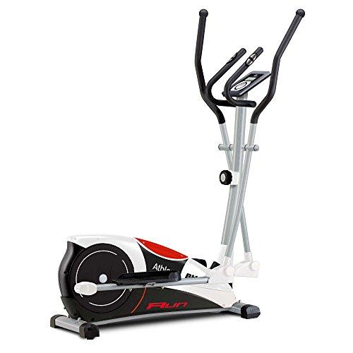 BH Fitness Athlon Run G2334RF - Vélo elliptique - Système inertiel 10 Kg - Moniteur LCD - Roues de transport