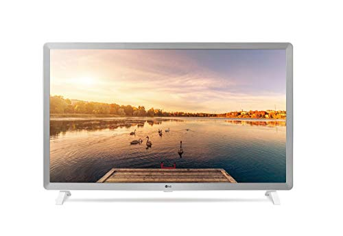 LG 32LKK6200 - TV Full HD LED, 32', AI Smart TV ThinQ webOS 4.0 avec Virtual Surround Sound 2.0, USB et HDMI, Pearl White