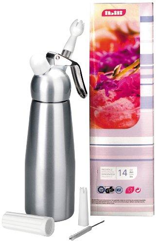 IBILI 750905 - Siphon Crème Argent-Alu 0,50 Lt.