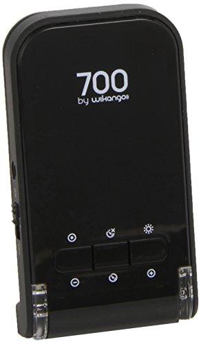 Wikango 700 - Avertissements radar, radars fixes et mobiles, affichage numérique, alertes vocales, limiteur de vitesse, batterie incluse, mémoire de points personnels.