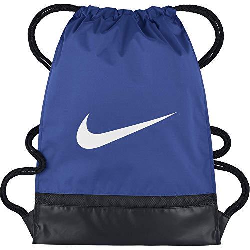 Nike Nk Brsla Brsla Gmsk String Bag, Mâle, Gris (Gris silex/Noir/Blanc), Taille Unique