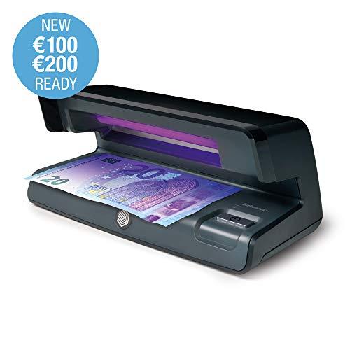 Safescan 50 Black - Détecteur UV pour faux billets de banque, vérification des cartes de crédit et des documents d'identité