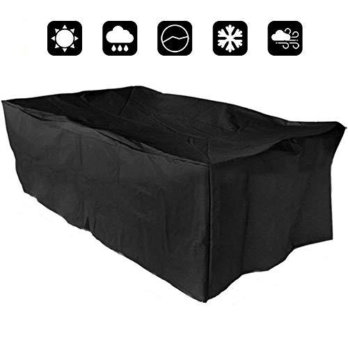 Couverture Yontree pour meubles de jardin Protection imperméable contre la pluie et le soleil 242 * 162 * 100cm