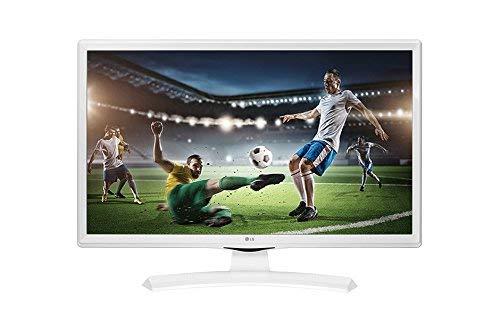 LG 24TK410V-WZ - 24' Led TDT2 HD-Ready Monitor/TV (1366 x 768 px, Mode Jeu, Anti-flicker, 200 Hz MCI, USB AutoRUN), Blanc