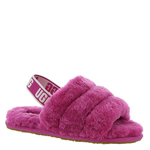 UGG Kids' T Fluff - Sandale plate à glissière Oui