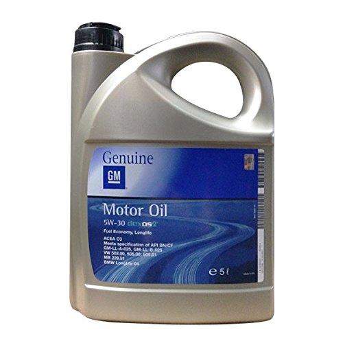 Opel dexos2 5 W30 huile moteur 5 litres