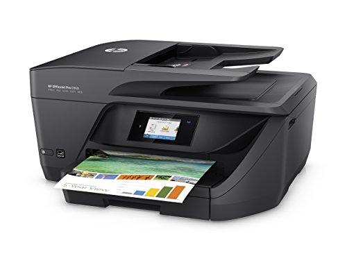 HP OfficeJet Pro 6960 - Imprimante multifonctions (encre couleur, WiFi, fax, copie, numérisation, impression recto-verso, 600 x 1200 ppp, dont 3 mois d'encre HP Instant Ink) noir