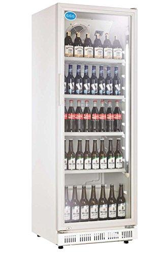 Réfrigérateur à bouteille avec porte vitrée 310 L getränkekühlsc hrank gewerbe Gastro