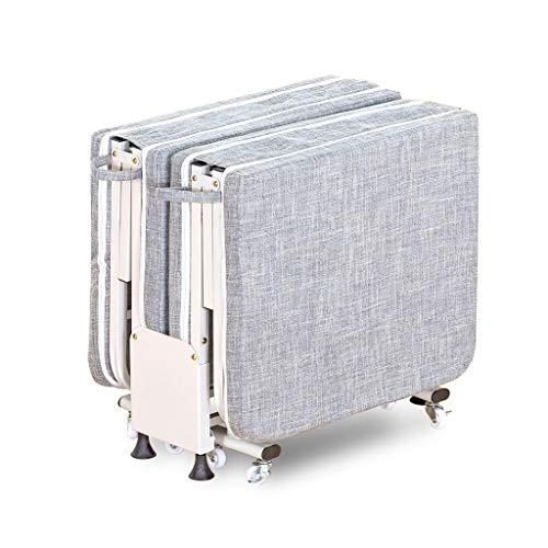 UCYG Canapé Lit pliable pour Invitados,Armadura Fauteuil canapé en métal avec matelas 1 Places pour Camping Garden Piscine, 200 Kg Charge, 200x75x33cm