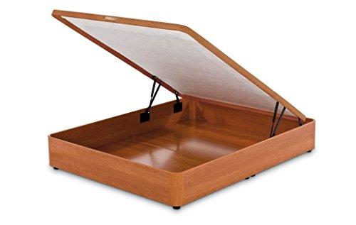 Flex - Canapé pliable avec pattes et roues - couleur cerise (135x190)
